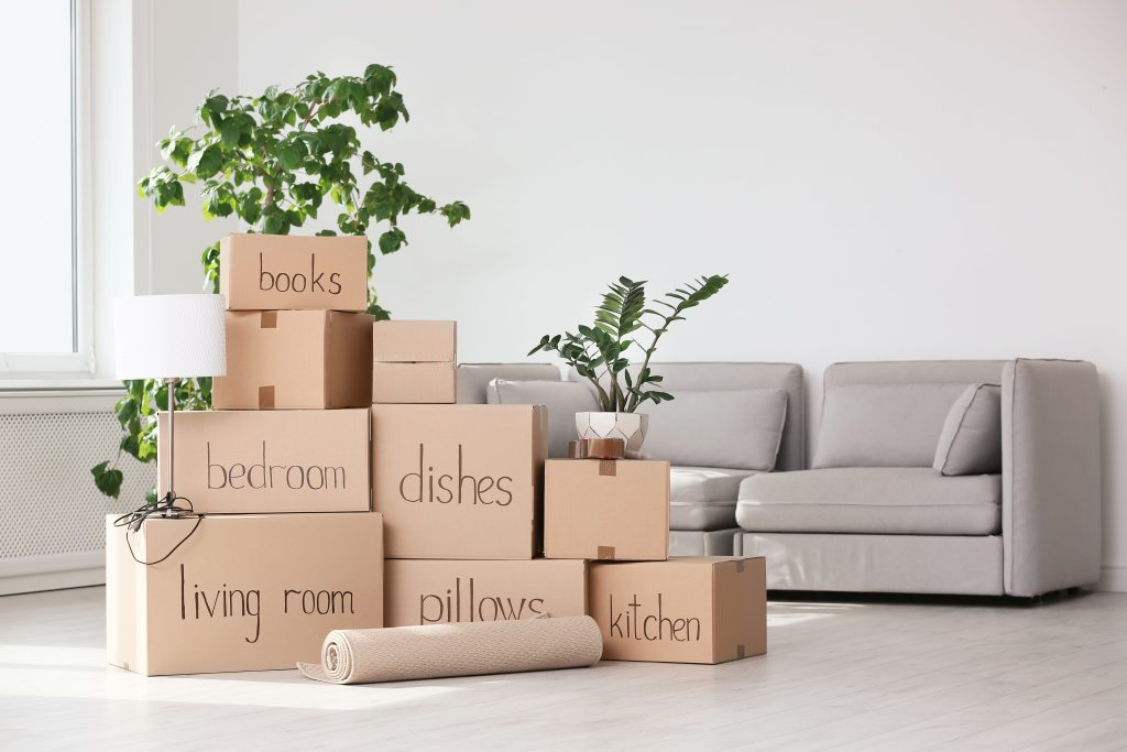 Labeled Moving Box