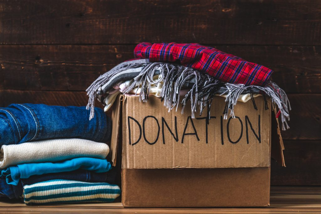 Donation unwanted clothes