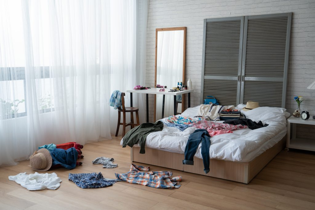 pack room by room
