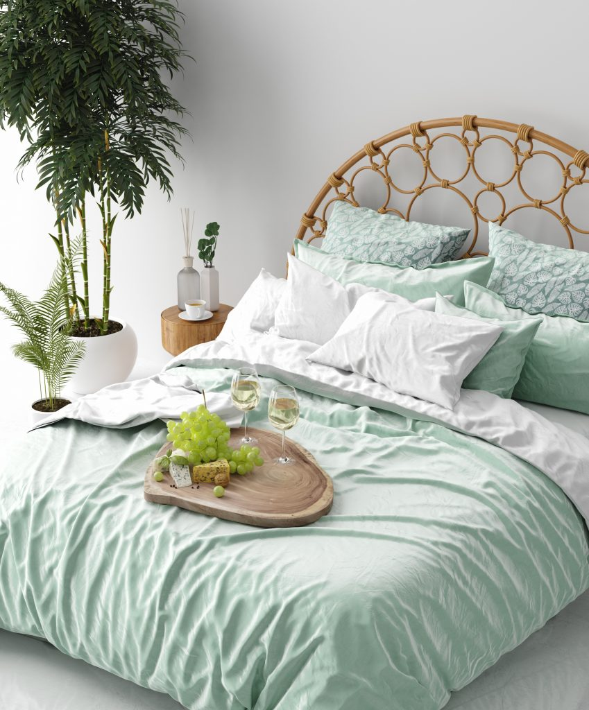 Choose Soft Green For A Soothing Look