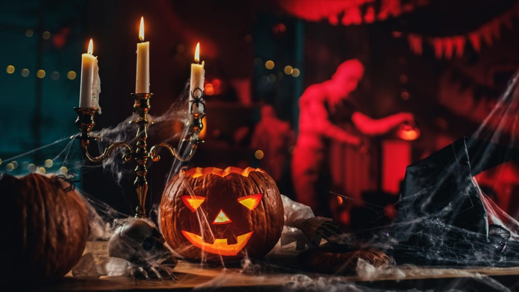 Antique Objects For A Spooky Atmosphere