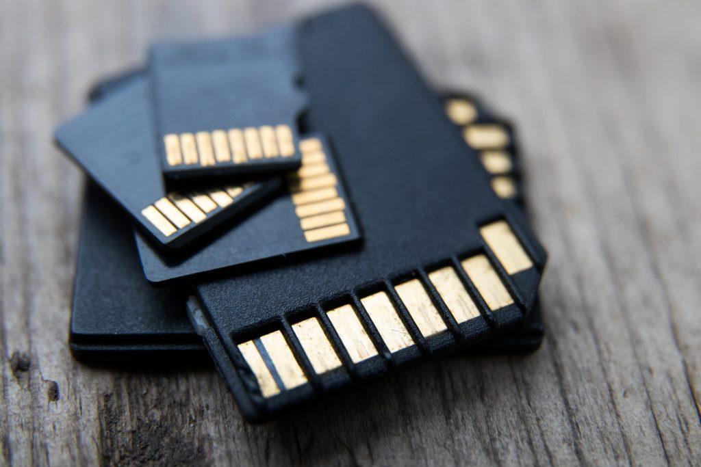 Flash memory SD card