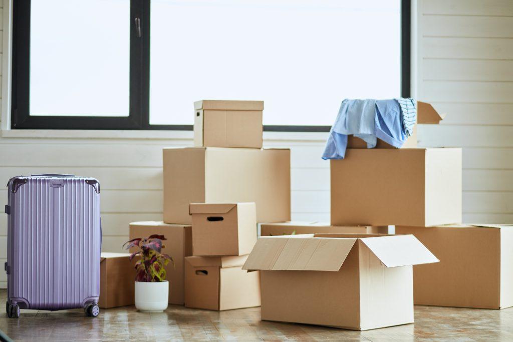 unboxing carton boxes