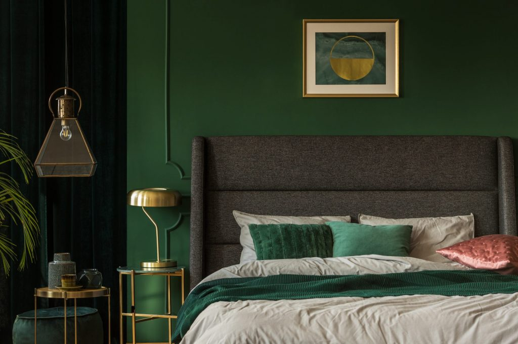 Pick A Deep Forest Green For A Jungle Effect