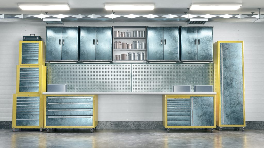 Steel garage metal tool cabinet