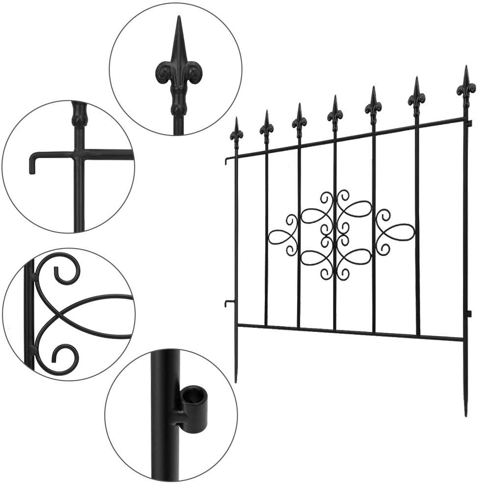 Amagbeli Iron Decorative Fence
