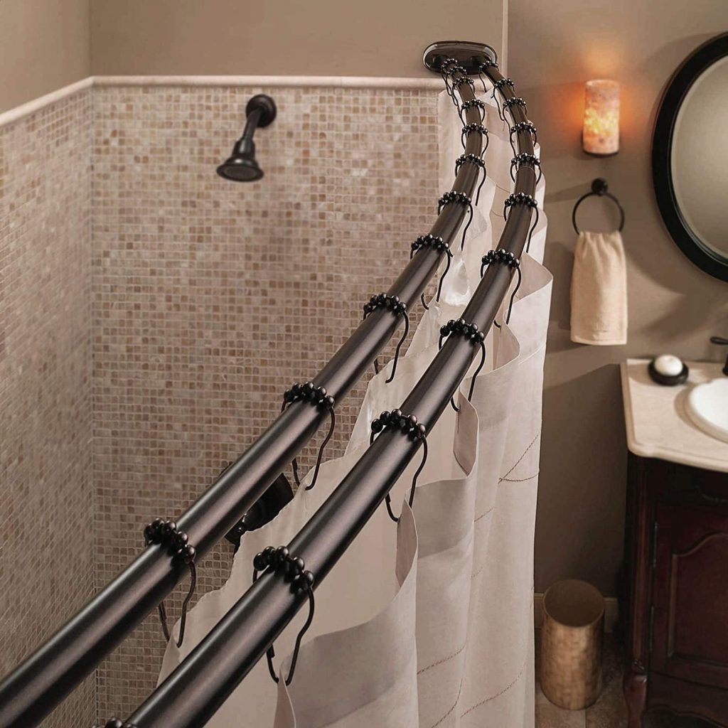 Bennington Adjustable Shower Curtain Rod