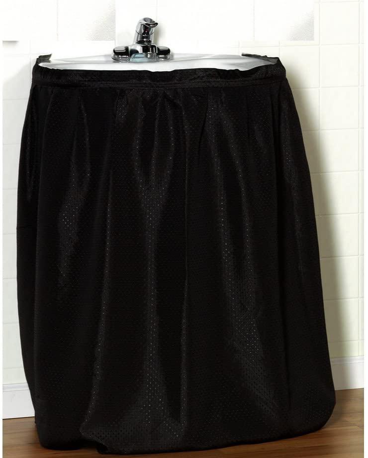 Carnation Home Fashions Fabric Sink Skirt