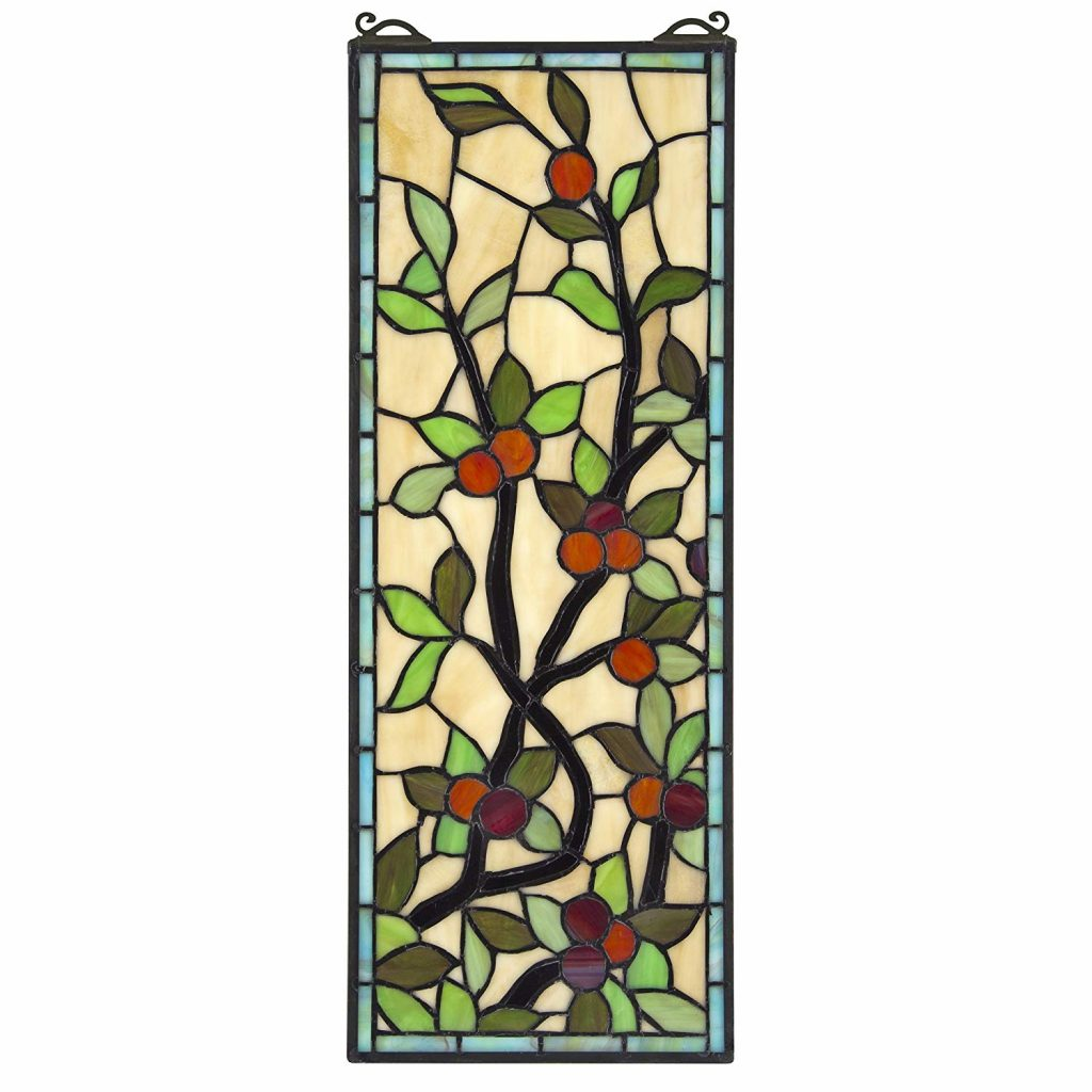 Design Toscano Blackstone Hall Stained Glass Window
