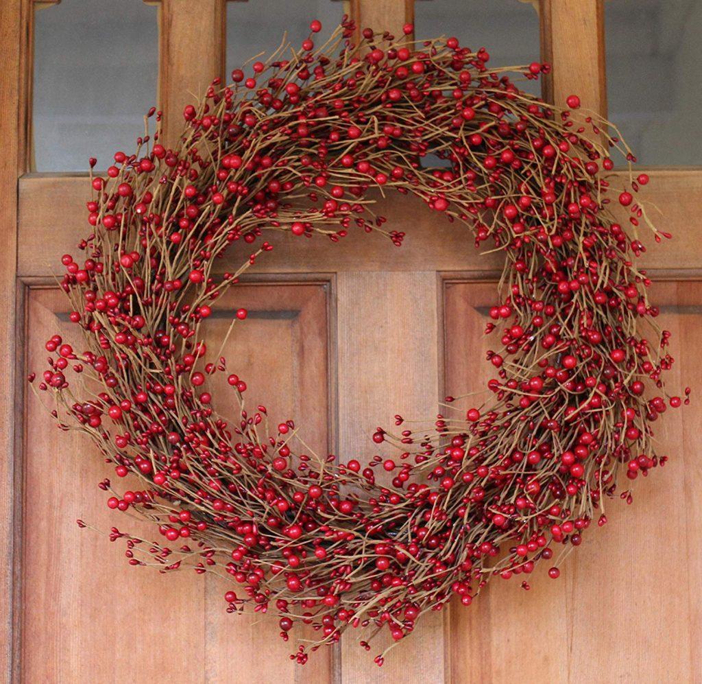 Ellsworth Red Berry Wreath