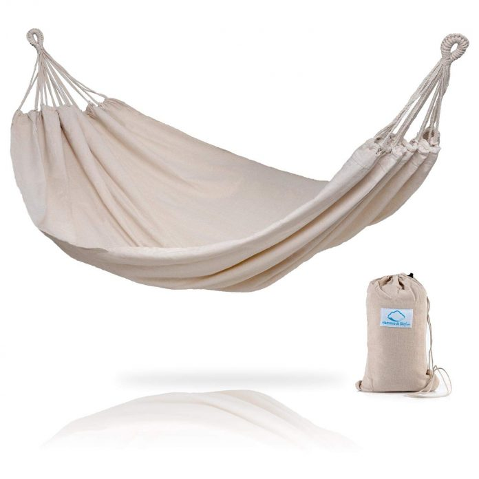 Foldable, Easy-To-Carry Double Hammock