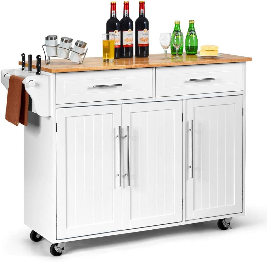 Giantex Kitchen Island Cart