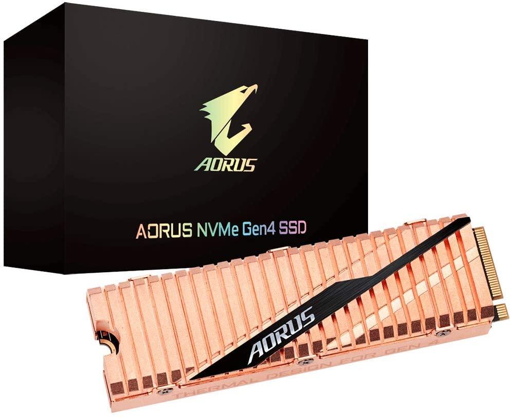Gigabyte Aorus NVMe Gen4 SSD