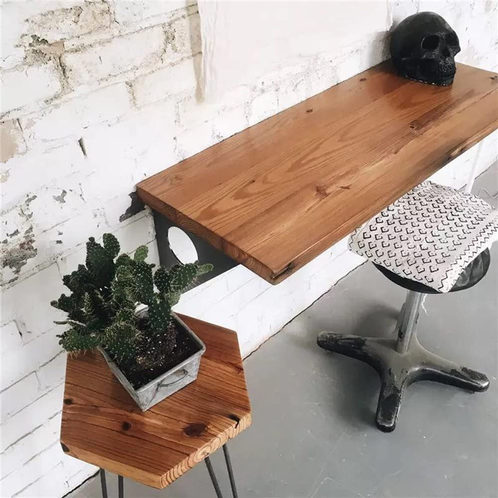 Industrial Rustic Wall Mounted Table