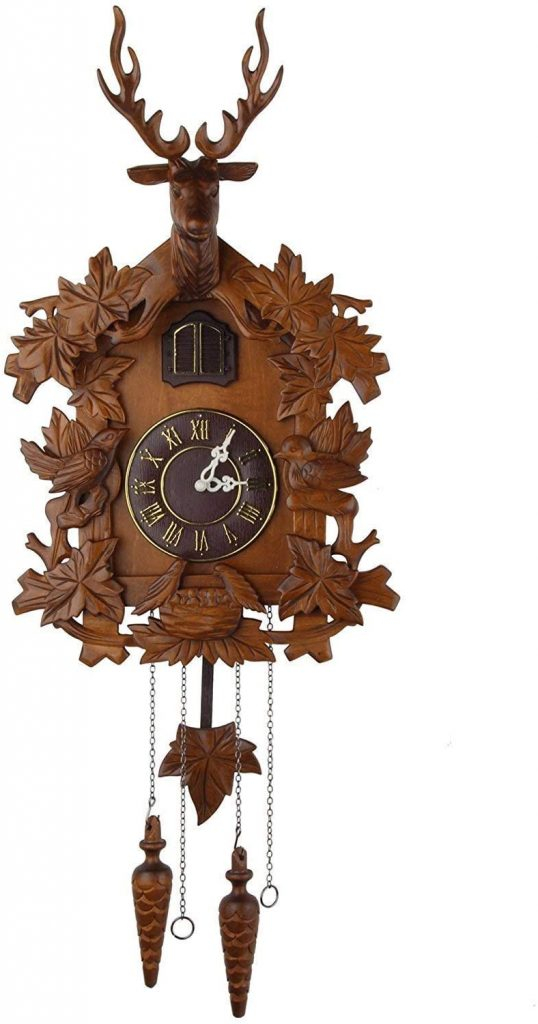 Kendal Large Handcrafted Wood Cuckoo Clock MX015-2