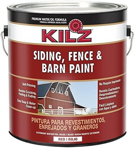 Kilz Pain For Fence