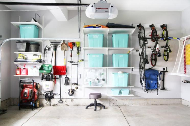 Lean On The Wall Standing Garage Shelf