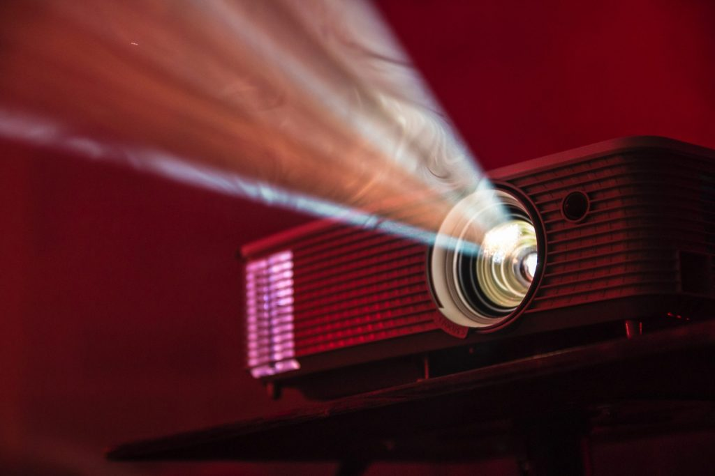 Man Cave Ideas- A Projector For Movie Fans
