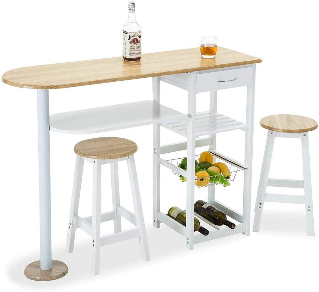 Mecor Kitchen Island Trolley Cart