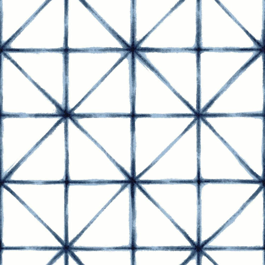 Modern Geometric Wallpaper by Roommates