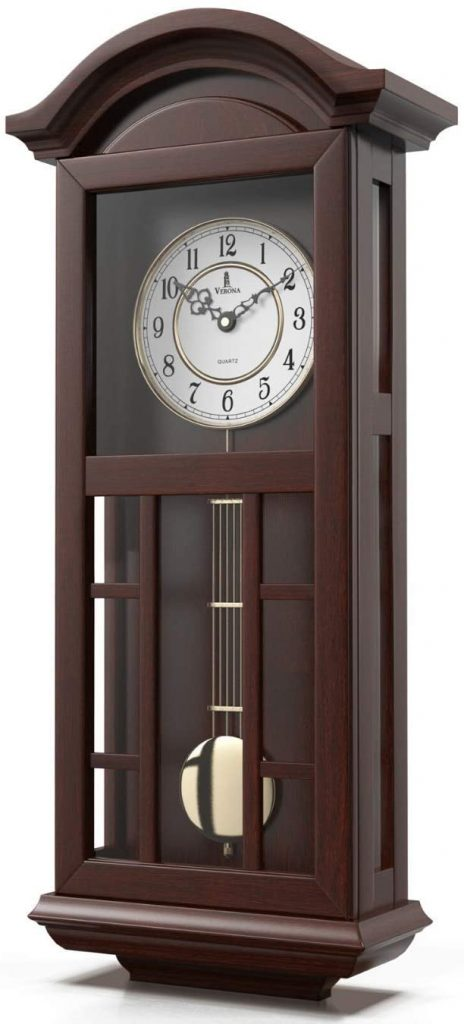Quartz Wood Pendulum Clock