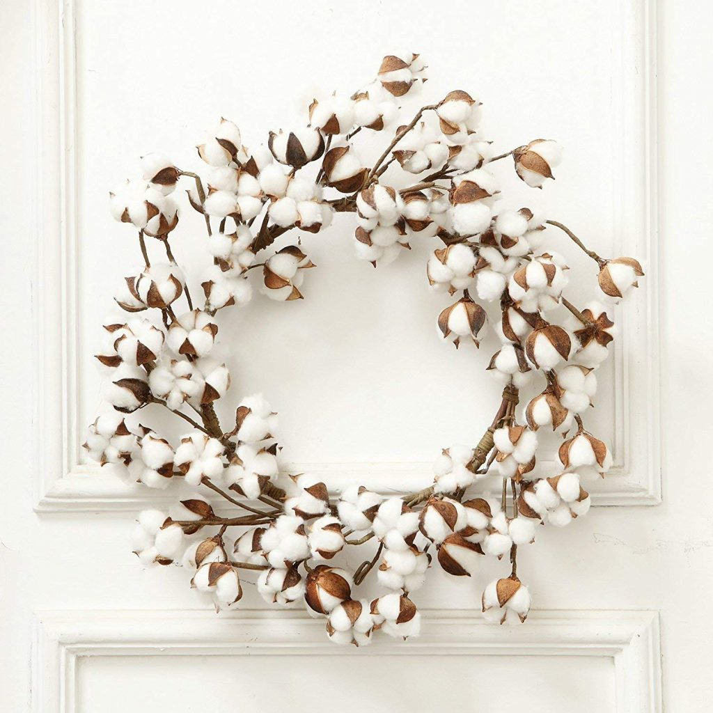 Real Cotton Wreath
