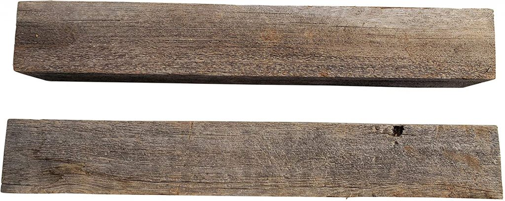 Reclaimed Wood Beam for Vintage Fence