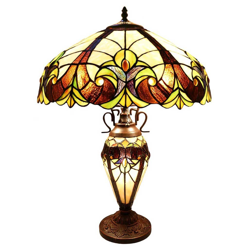 River Of Goods Tiffany Style Table Lamp