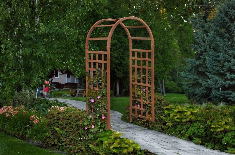 Composite Arbor for Fence