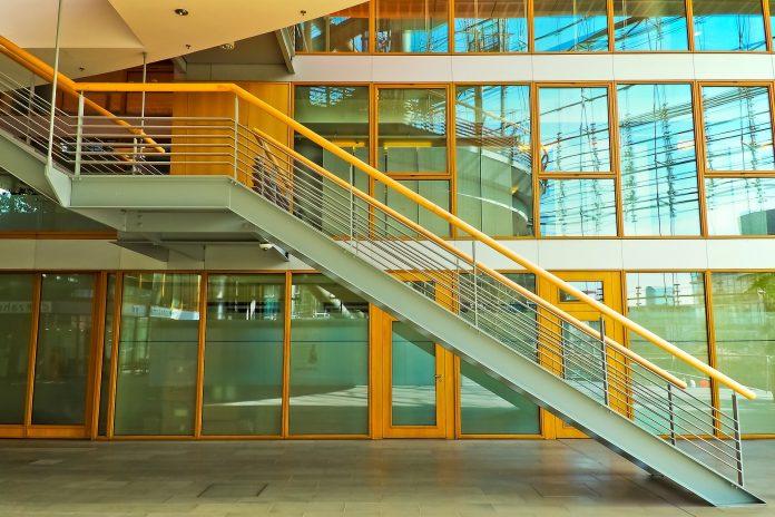 Staircase Railing & Door:Window Frames