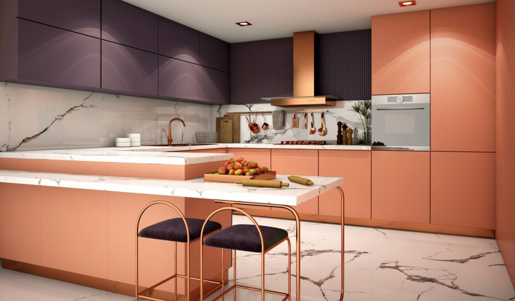 Streamlined Kitchen Cabinets