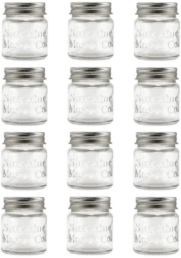 Sunshine Mason Co. Mini Mason Jar