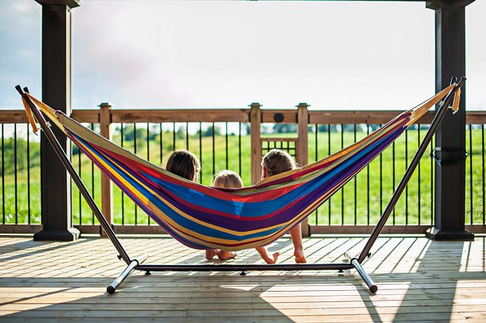 Super Colorful Hammock With Stand