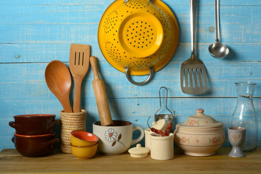 Warm Colors For Your Kitchen Utensils