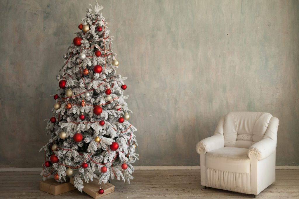 Beautify With Red Ornaments
