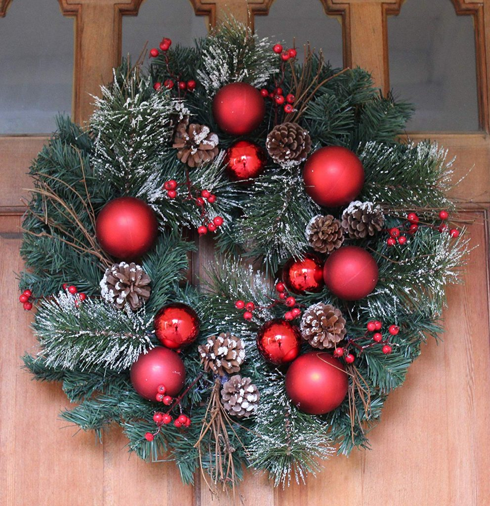 Whitehall Decorated Christmas Wreath
