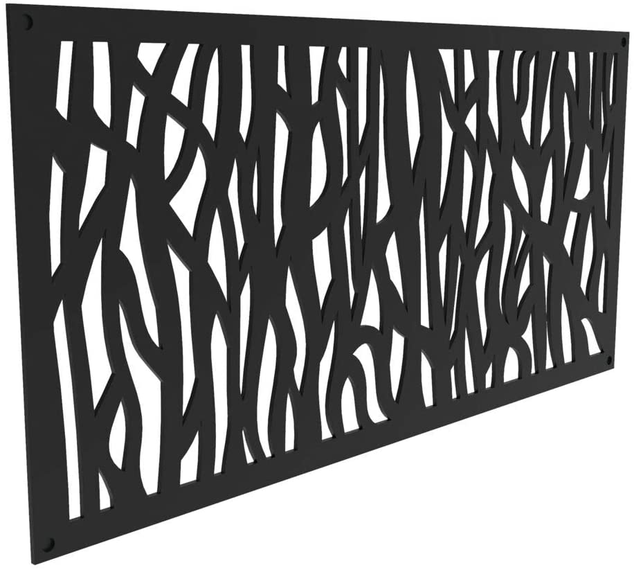 Decorative Lattice Fence