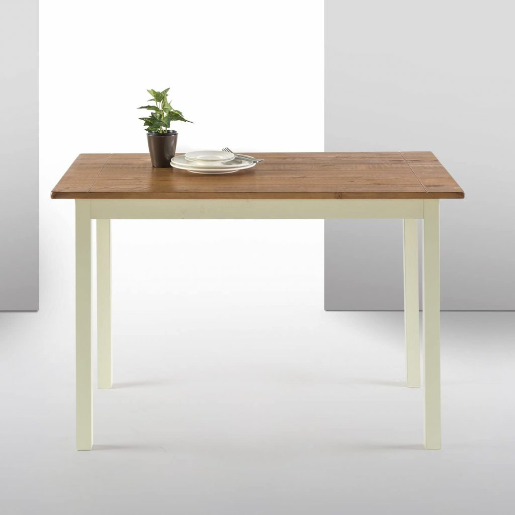 Zinus Becky Farmhouse Wood Dining Table