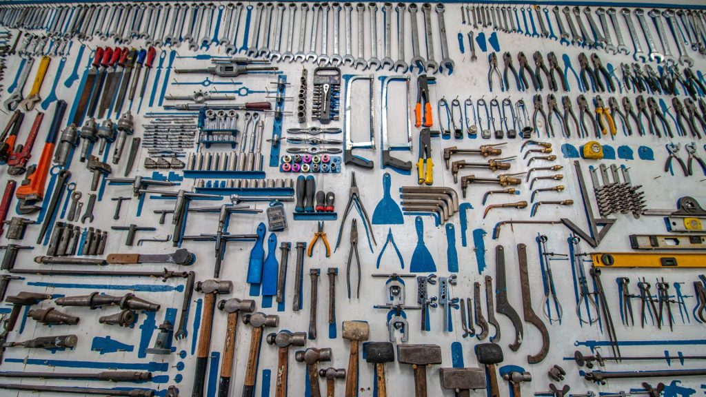 Organize Your Tools With A Slat Wall