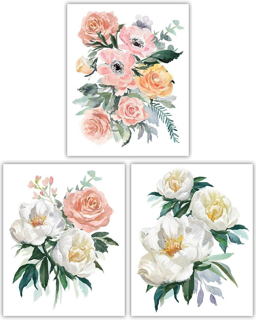 florals in small touchs