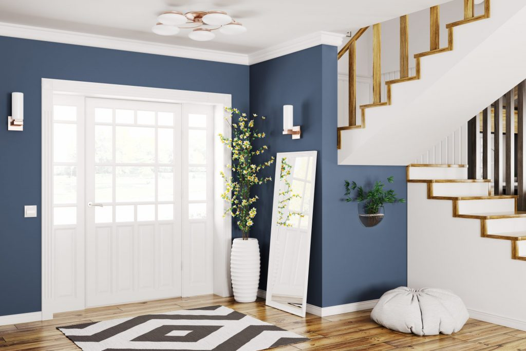 Go Bold With Colors For Foyer Design