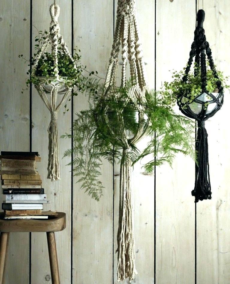 Affix Your Hanging Planter