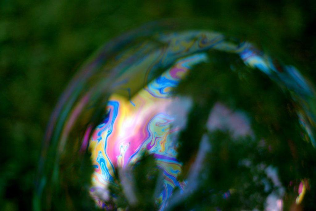 iridescent-bubble
