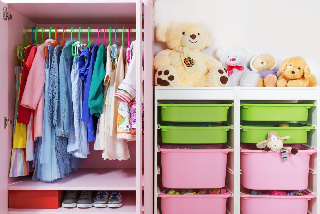 large children's closet