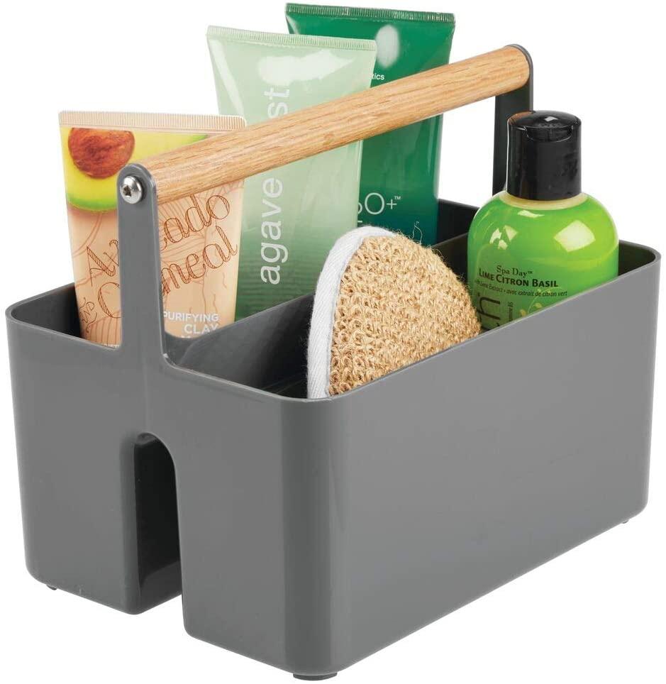 mDesign Plastic Portable Storage Organizer