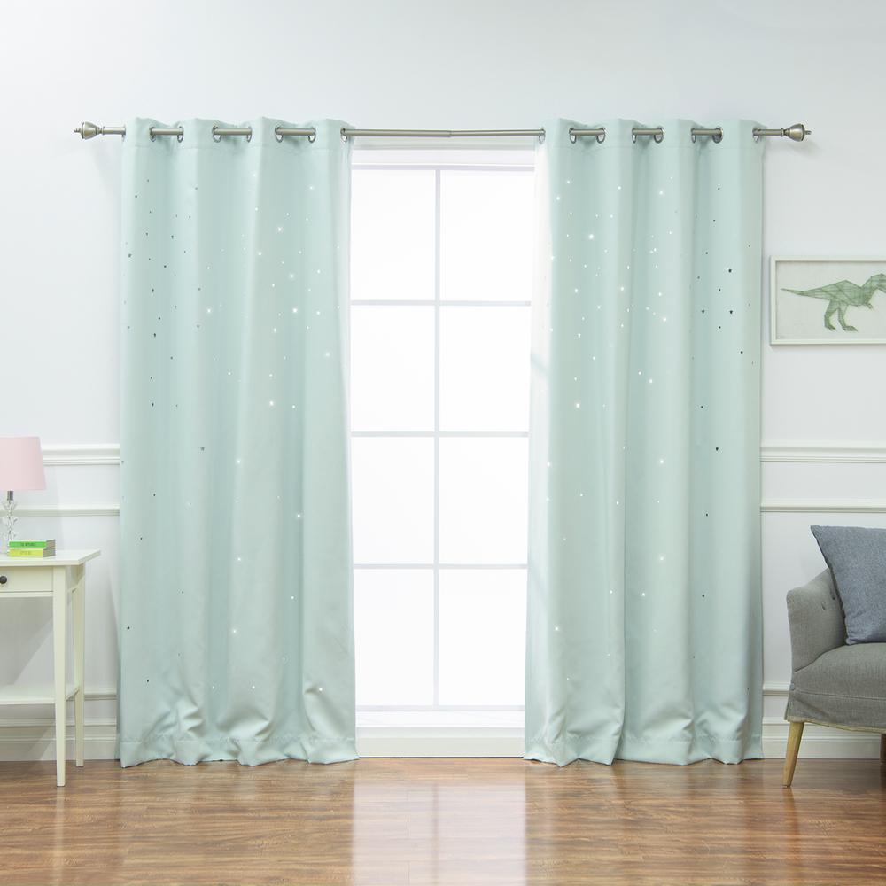 mint-green-curtans