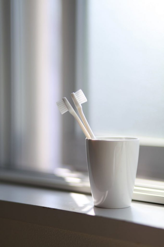 Toothbrush/Toothpaste With Holder