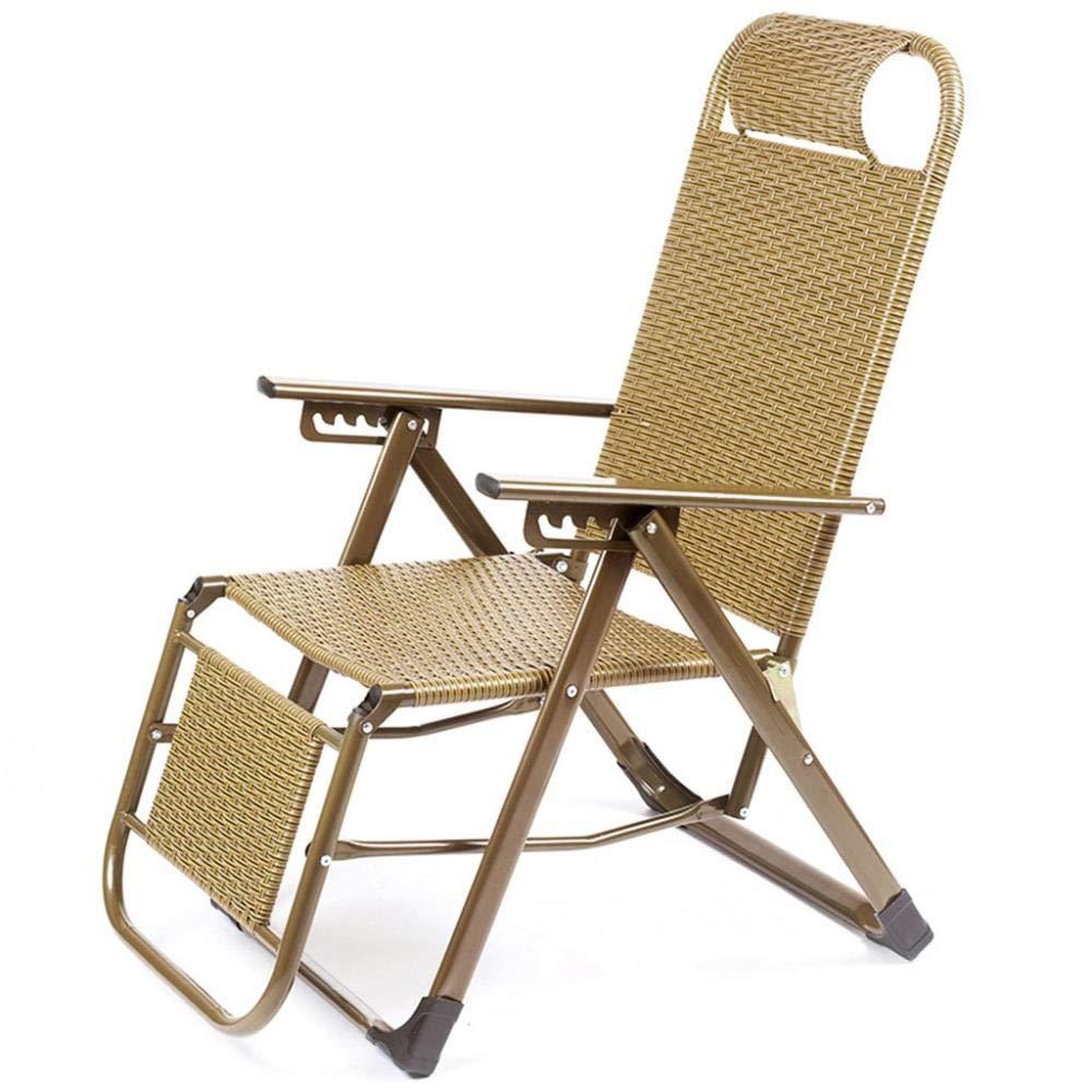 Garden PE Rattan Reclining Chair