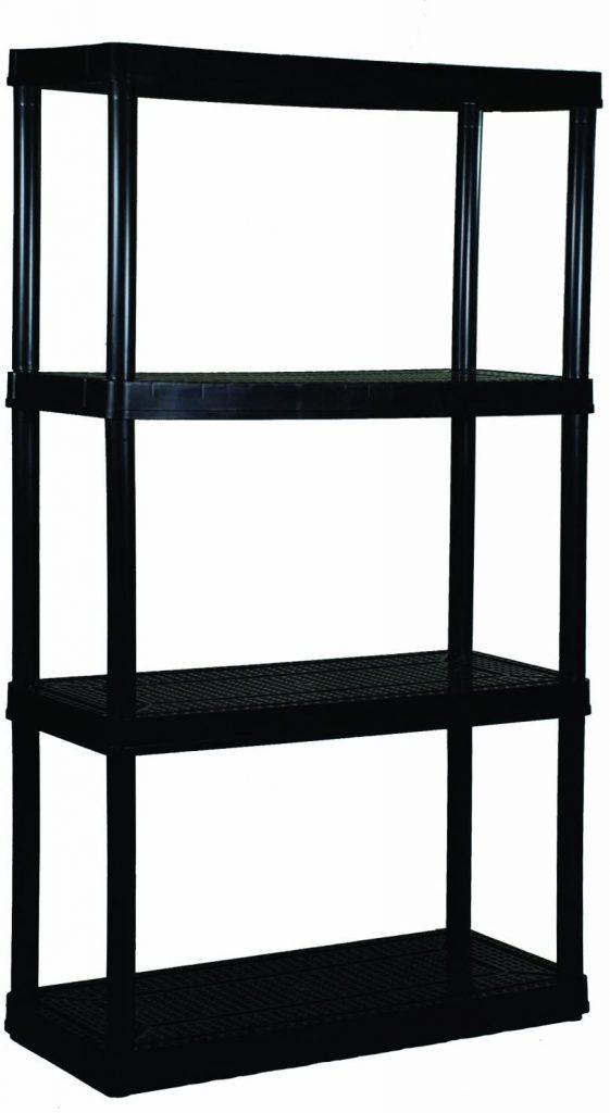 simple garage shelf