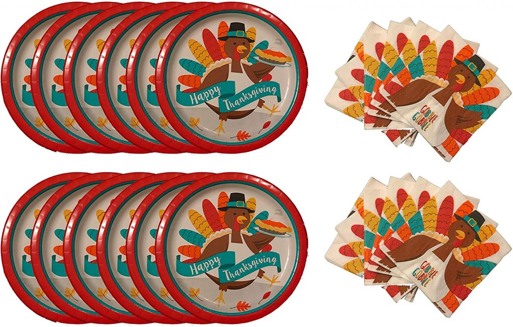 thanksgiving plates for kids